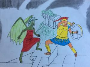 Perseu VS Medusa Oriol Fariñas