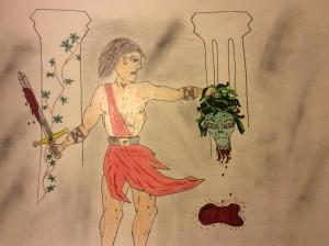 Perseu i Madusa, per Gerard