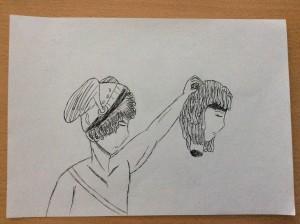 Perseu i Medusa, Alícia